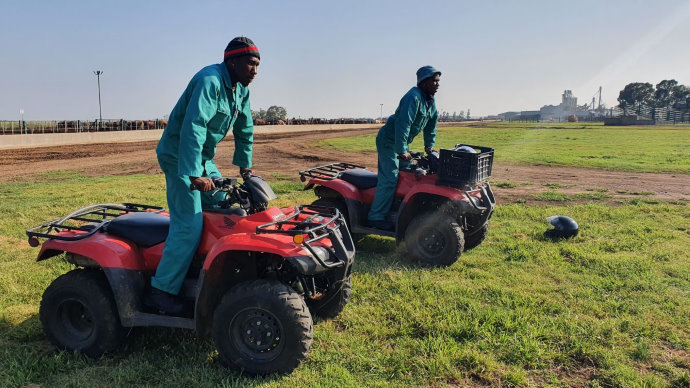 Why would you say there is a need for quad bike rider training of employees on a farm