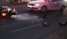 24 Year old biker killed in collision on Witkoppen road