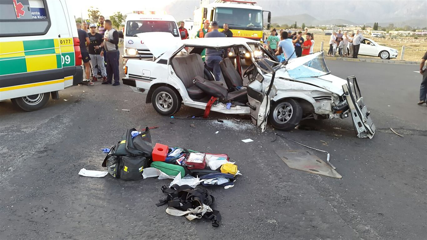 14 Injured in Aan De Doorns Road collision - Arrive Alive