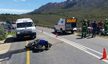 Biker killed after losing control of bike in mountain pass