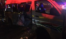 17 Injured, 3 critical after collision on the R562 in Clayville, Tembisa.