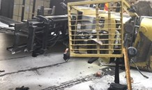 Forklift operator injured in industrial accident in Glen Anil