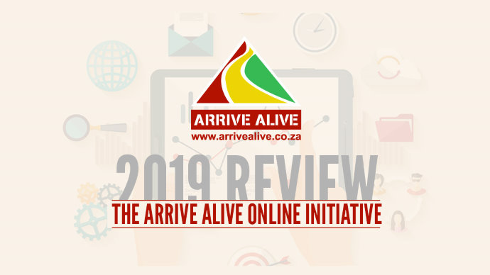 Download the Arrive Alive Online Initiative Infographic