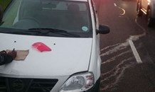 Collision the N2 North before Umhlanga