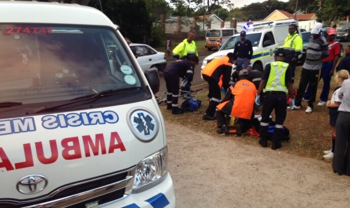 Is there anything paramedics can do during the response at the scene or treatment to be safe?