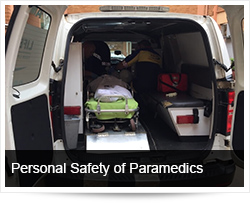 Personal Safety of Paramedics Responding to Emergency Calls