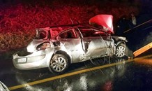 Two injured in vehicle rollover on the N2 North in Umgababa