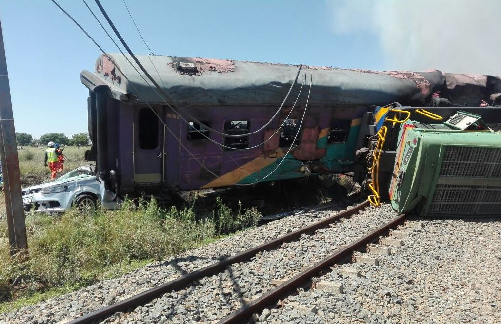 PRASA updates death toll from level crossing train crash in the Free ...