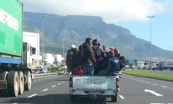 Transportation of People on Back of a Bakkie: What will the law Change and Not Change