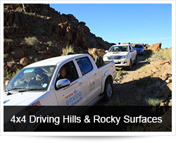 4x4 Driving Hills & Rocky Surfaces