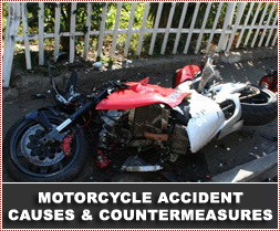 Motorcycle Accident Cause Factors