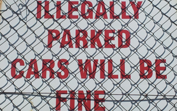 In Cape Town you could get fined for parking illegally or your car could be fine.