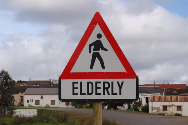 Beware of the elderly when you're in Elim, they might be dangerous with their walking sticks.
