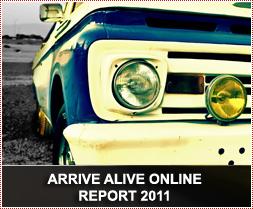 Arrive Alive Online Report 2011
