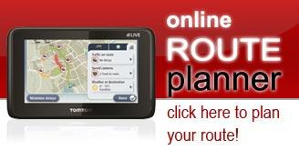 Tom Tom Route Planner