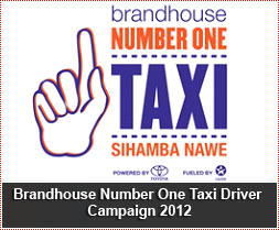 Brandhouse Number One Taxi Driver Campaign 2012