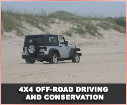 4x4 Off-Road Driving and Conservation