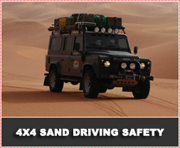 4x4 Sand Driving Safety