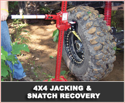 4x4 Jacking & Snatch Recovery