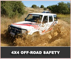 4x4 Off-Road Driving Techniques & Safety