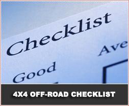 4x4 Offroad Checklist
