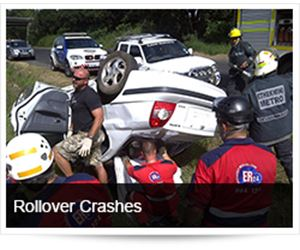 Rollover Crashes, Crash Reconstruction and Safer Driving