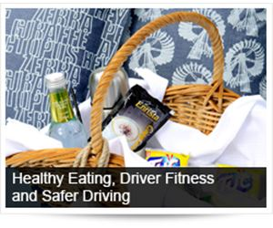 Healthy Eating, Driver Fitness and Safer Driving