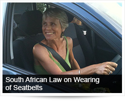 South African Law on Wearing of Seatbelts