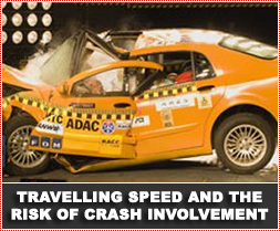 Travelling Speed and the Risk of Crash Involvement