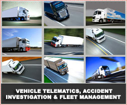 Vehicle Telematics, Accident Investigation and Fleet Management