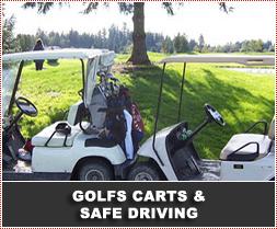 Golf Carts and Road Safety / Golf Course Safety