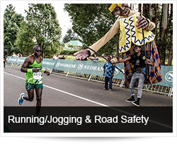 Running / Jogging and Road Safety