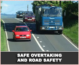 Safe Overtaking and Road Safety