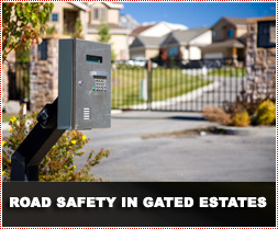 Rules of the Road and Road Safety within Gated Estates