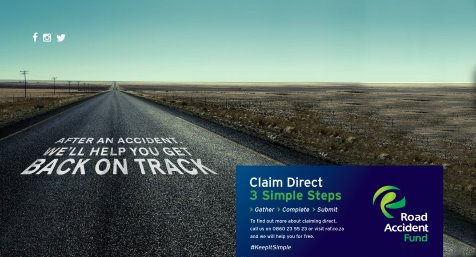 Road Accident Fund Claim Direct slider image