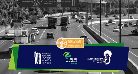 Road Accident Fund Transport Month banner slider image