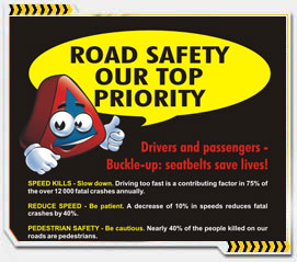 Road Safety - Our top priority