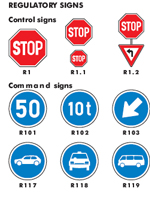 Traffic Signs of South Africa - Arrive Alive