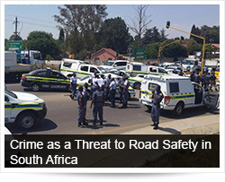 Crime as a Threat to Road Safety in South Africa